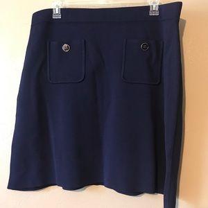 Tommy Hilfiger navy sweater skirt size XXL NWOT
